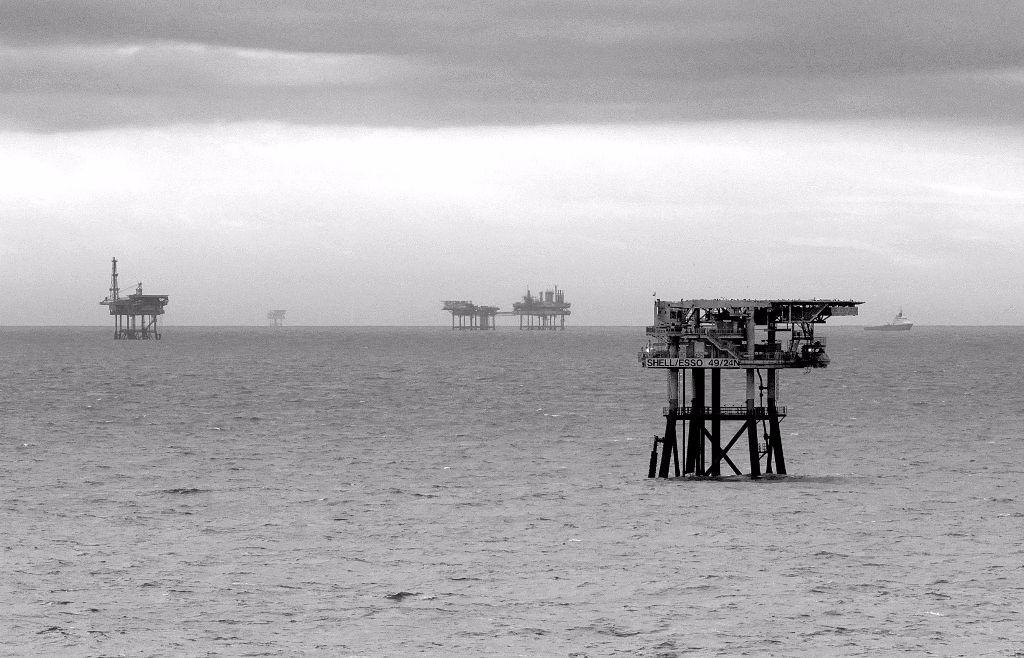 Rigs, North Sea