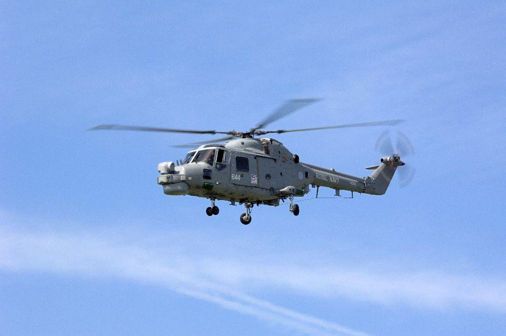 Royal Navy Lynx XZ255