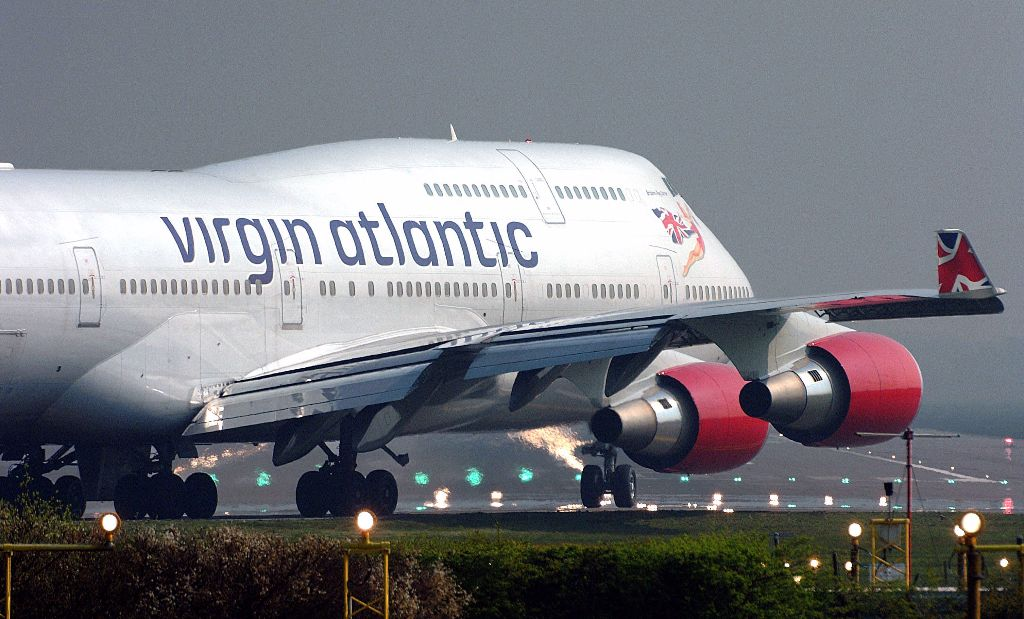 Virgin Atlantic B747