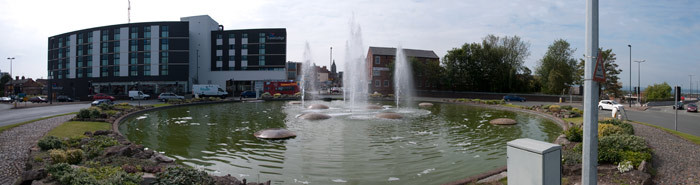 Fountains roundabout - Chester
