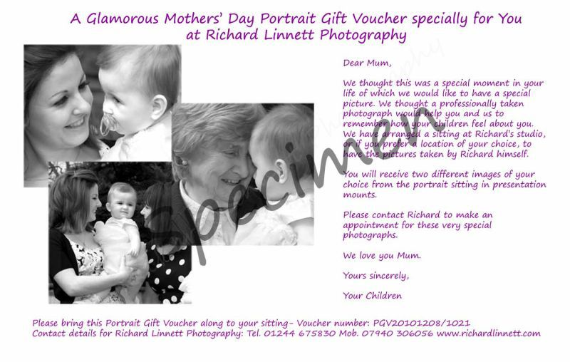Glamorous Mothers' Day Gift Voucher