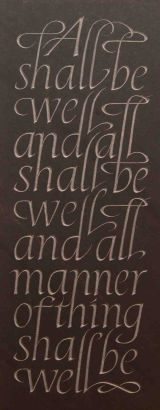 'All shall be well'