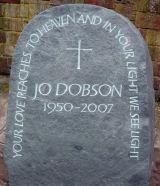 Memorial. Cumberland slate 2008