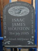 Headstone in Cumbrian Slate