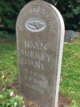 Headstone in Purbeck Thornback Limestone