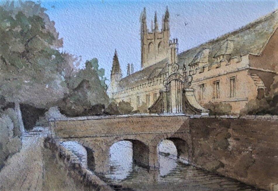 Magdalene College Oxford, Bridge