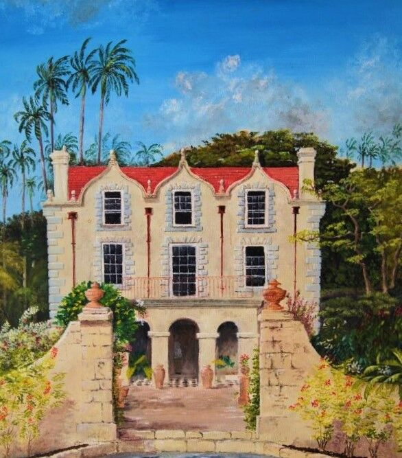 Nicholas Abbey Barbados Oil 1990