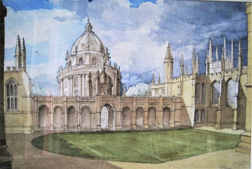 Radcliffe Camera from All souls