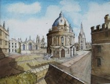 Radcliffe Camera from Exeter College