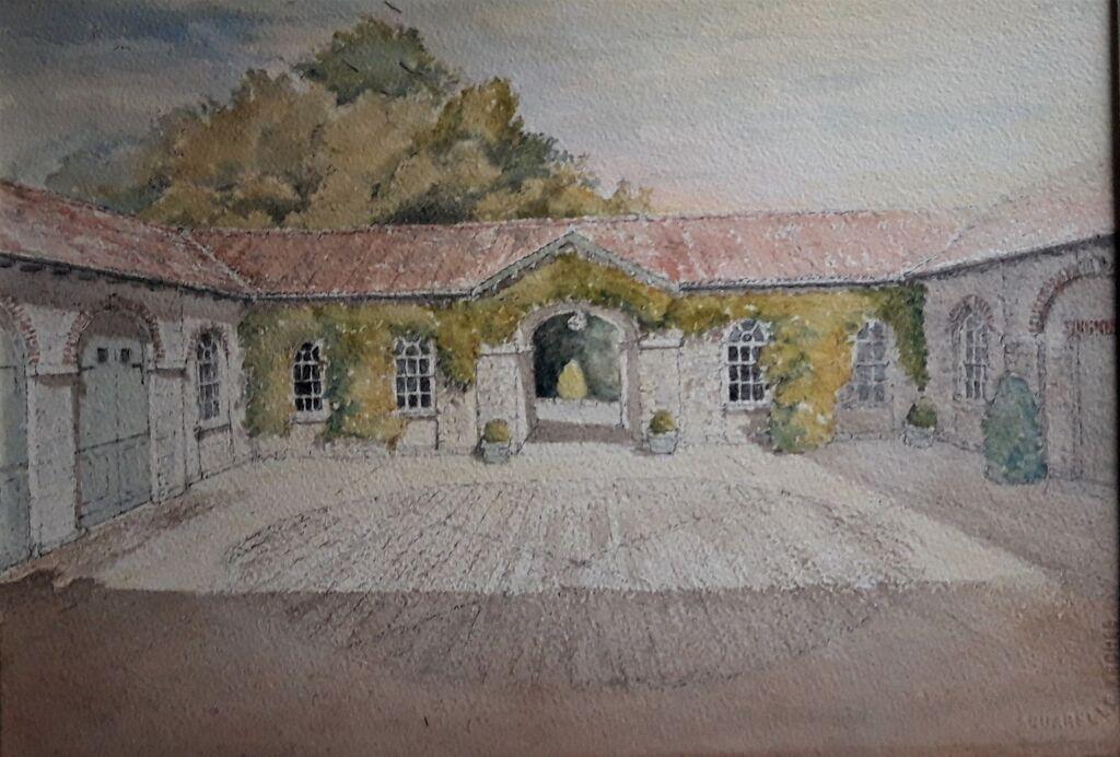 The Dairy House Ugbrooke Courtyard