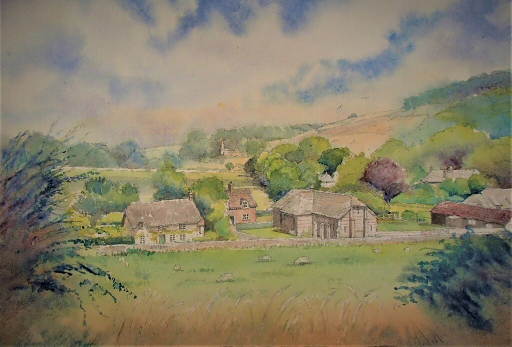 Winterbourne Clenston Valley Dorset