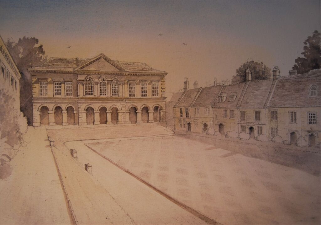 Worcester College Oxford I