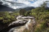 Somewhere at the bottom of Glen Etive near the Scoop