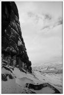 Hay Tor Lowman in Winter