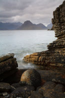 A badly done attempt at Joes Boulder, Elgol