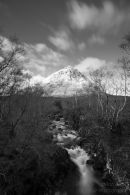 Long Exposure shot of The Buachaille
