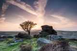 Near Saddle Tor Dartmoor Sunset 4