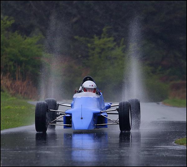 A bit damp !