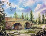 Adam's bridge at Dumfrie House