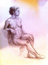 1 hr life drawing