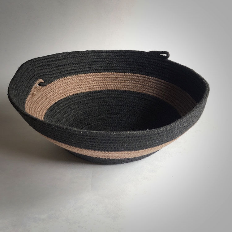 SOLD!    19-632 Sam Basket BrnBlk