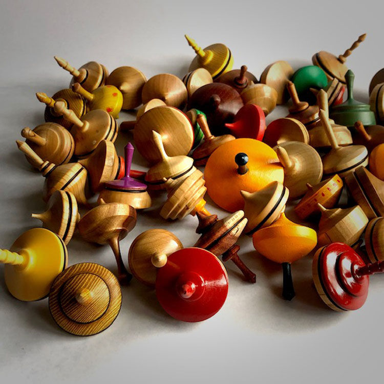 20-103 Spinning Tops:  5 for $42