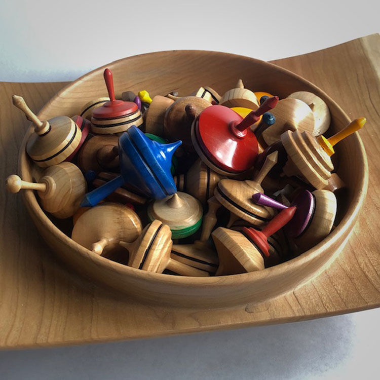20-104 Spinning Tops:  6 for $48