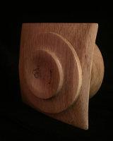 White Oak bowl, bottom view