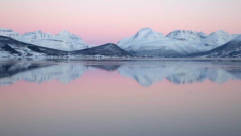 Belt of Venus, Balsfjord