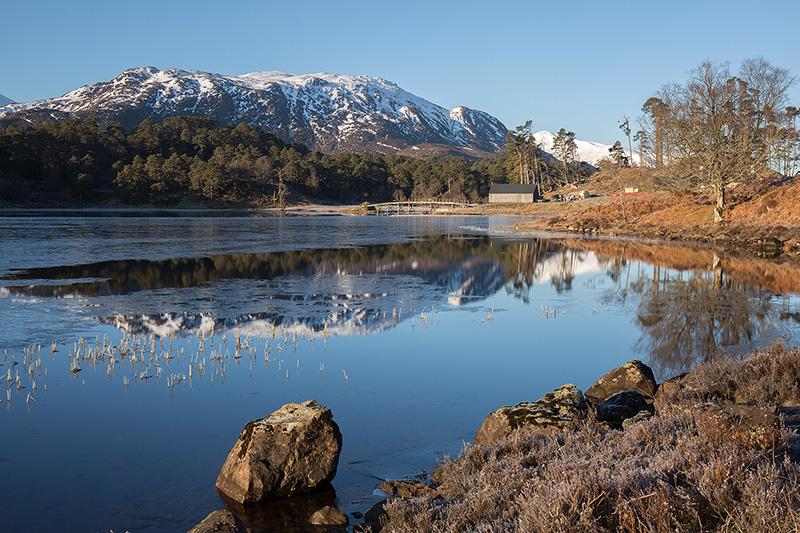 Creag nan Calman and Loch Affric