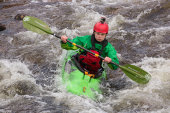 White water canoeing, River Etive