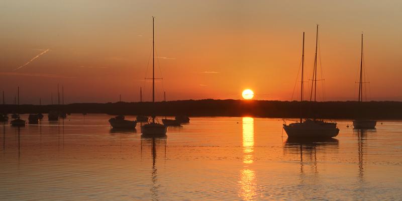 Sunset, Brancaster