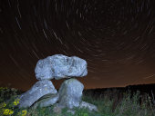 Devil's Den and star trails