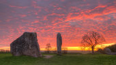 Dawn at Avebury