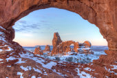 Turret Arch and North Window