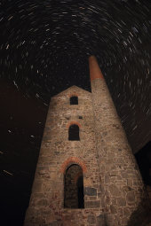 Wheal Coates under the stars