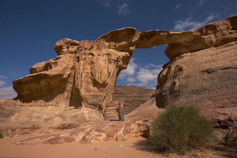 Um Frouth Rock Arch, Wadi Rum