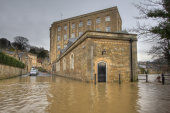 Bristol Avon Flooding, Bradford-on-Avon