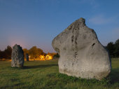 Avebury by moonlight