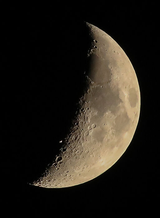 International Space Station transiting the Moon