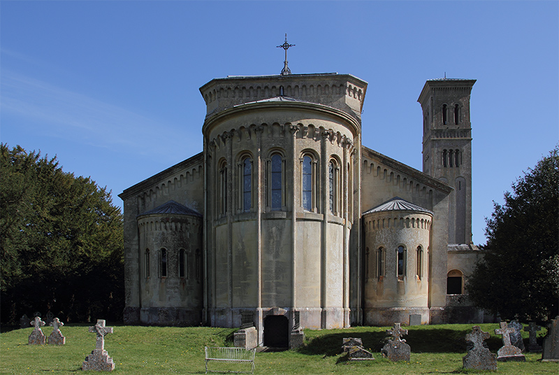 Italianate church, Wilton