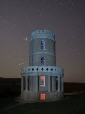Pleiades rising, Clavell Tower