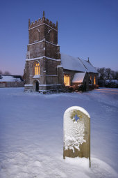 Winterbourne Bassett church