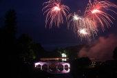 Fireworks at Stourhead