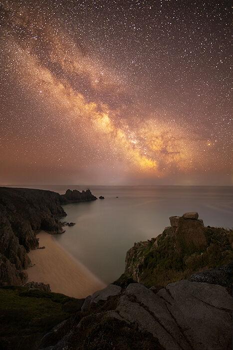Milky Way, Pednvounder Beach