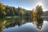 Stourhead in Early Morning