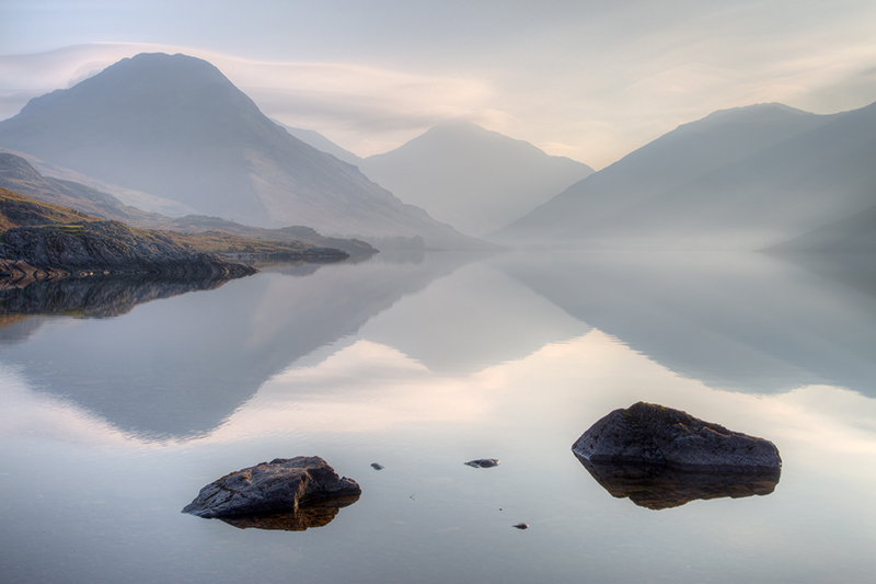 Yewbarrow, Great Gable and Scafell Pike
