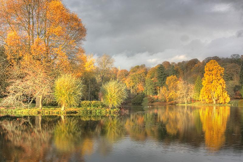 Stourhead in Autumn