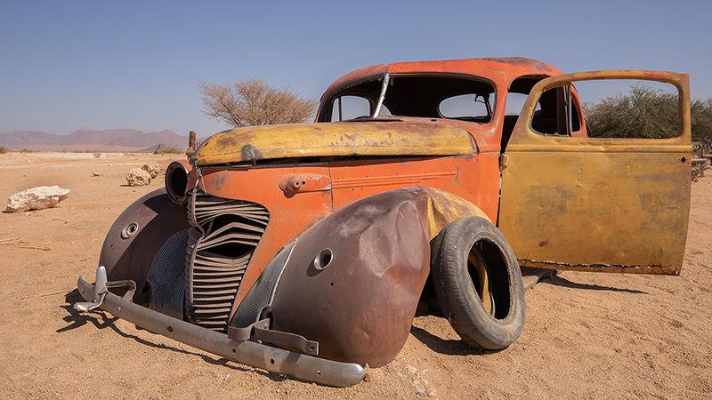Desert Breakdown