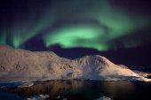 Aurora borealis, Nordkapp